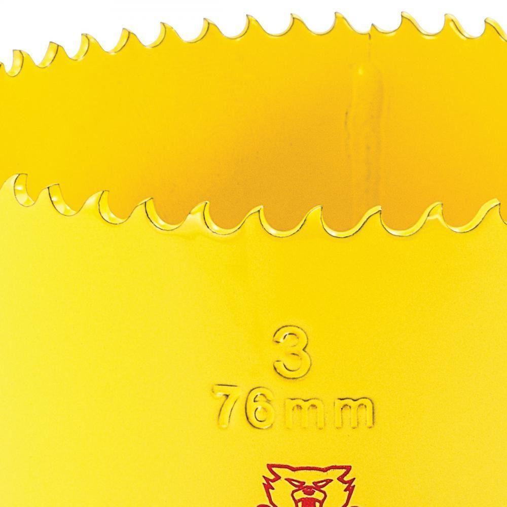 """SERRA COPO FAST CUT BI-METAL 3"""" (76MM)  STARRETT FCH0300-G"""