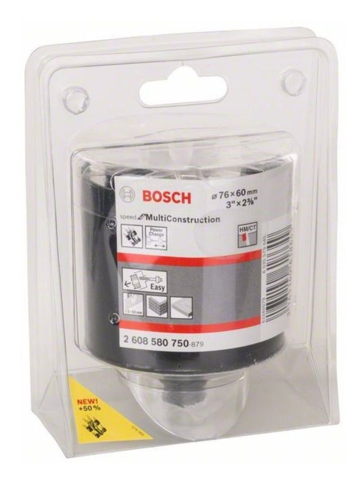 "Serra Copo Multi Construction 76 mm 3"" 2608580750 Bosch"