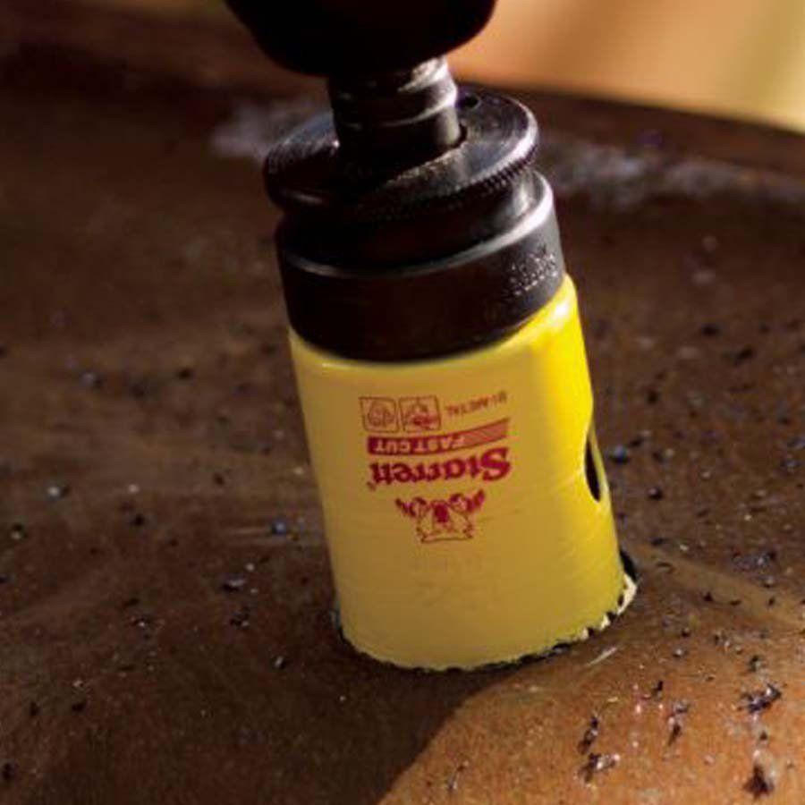 """Serra Copo Profissional Fast Cut 3/4"""" 19mm Starrett - FCH0034-G"""