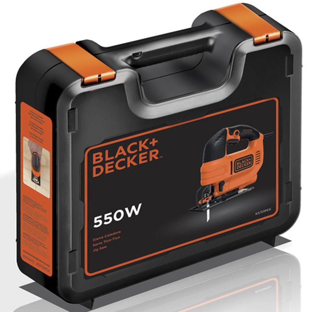 SERRA TICO TICO 550W COM MALETA - KS701PEK BLACK + DECKER
