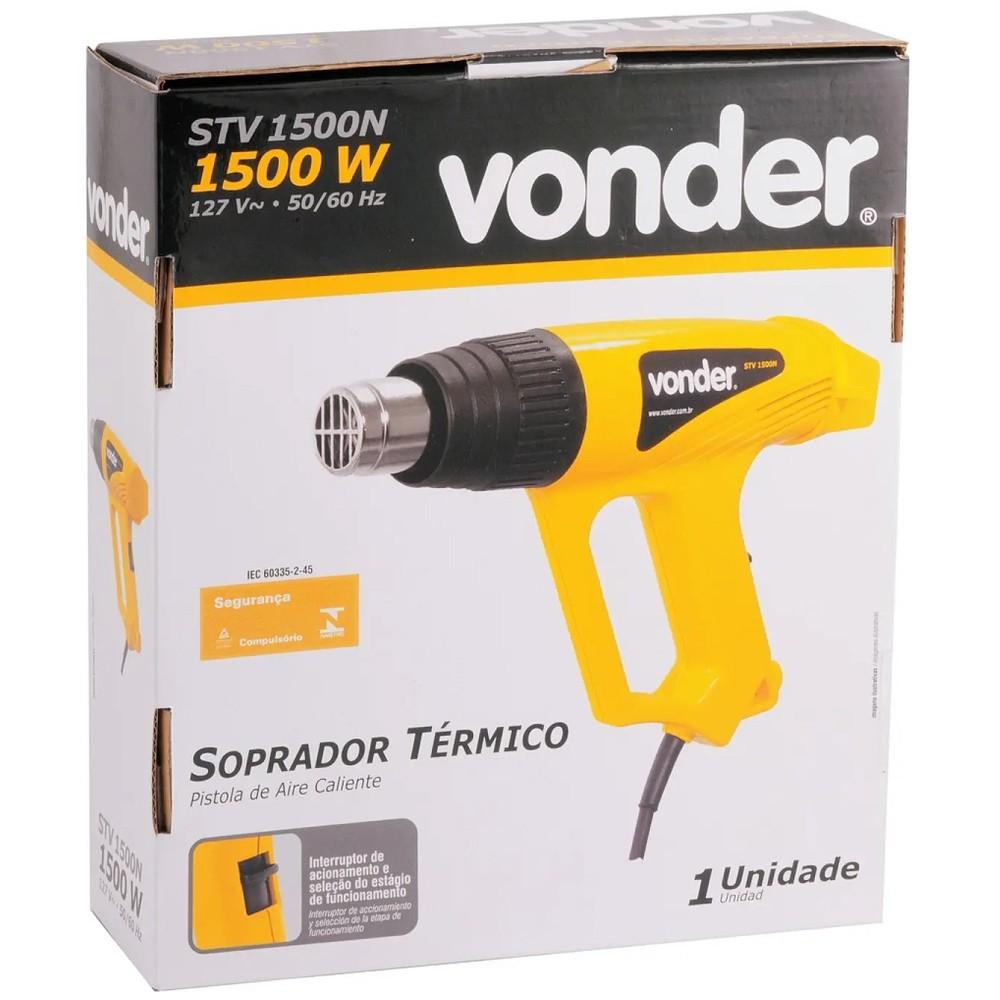 SOPRADOR TERMICO 1500W COM 4 BICOS - STV1500N VONDER