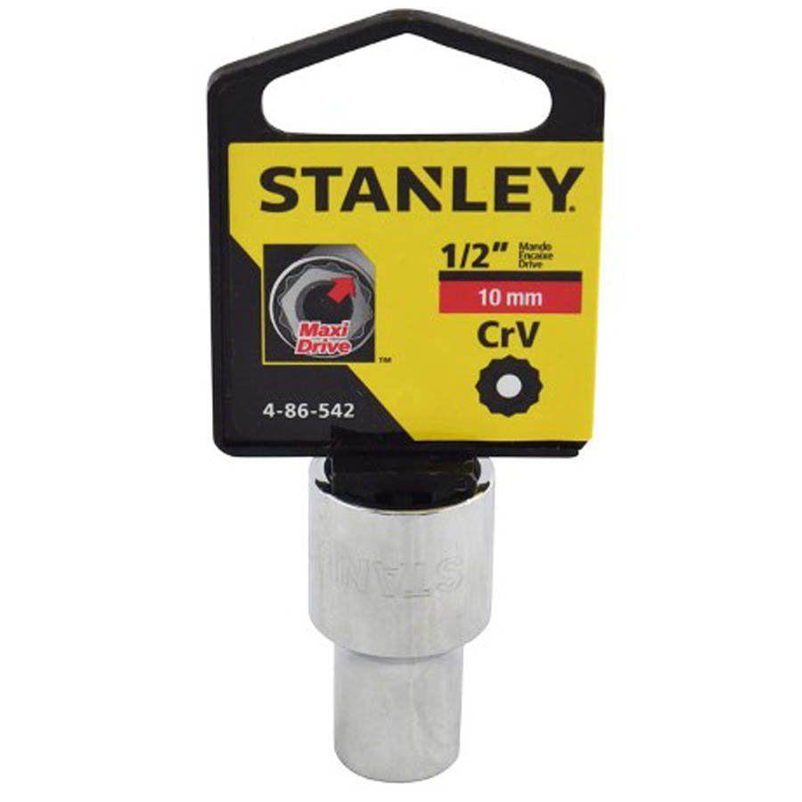 Soquete Estriado de 1/2 - 10MM - Stanley - 4-86-542