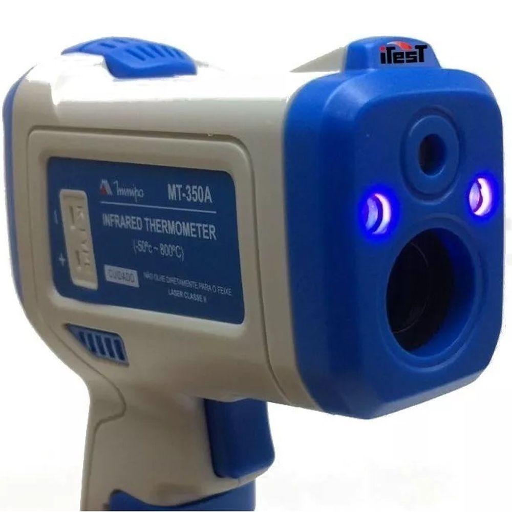 TERMOMETRO DIGITAL MIRA LASER 30-550ºC - MT-350A MINIPA