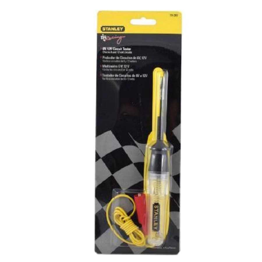 Testador De Circuitos 6v e 12v Simples Stanley 78-207