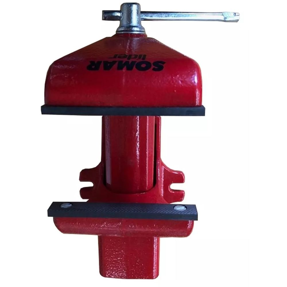 TORNO BANCADA N4 C/ MORDENTES METALICOS 101,6 mm - 10010084 SOMAR