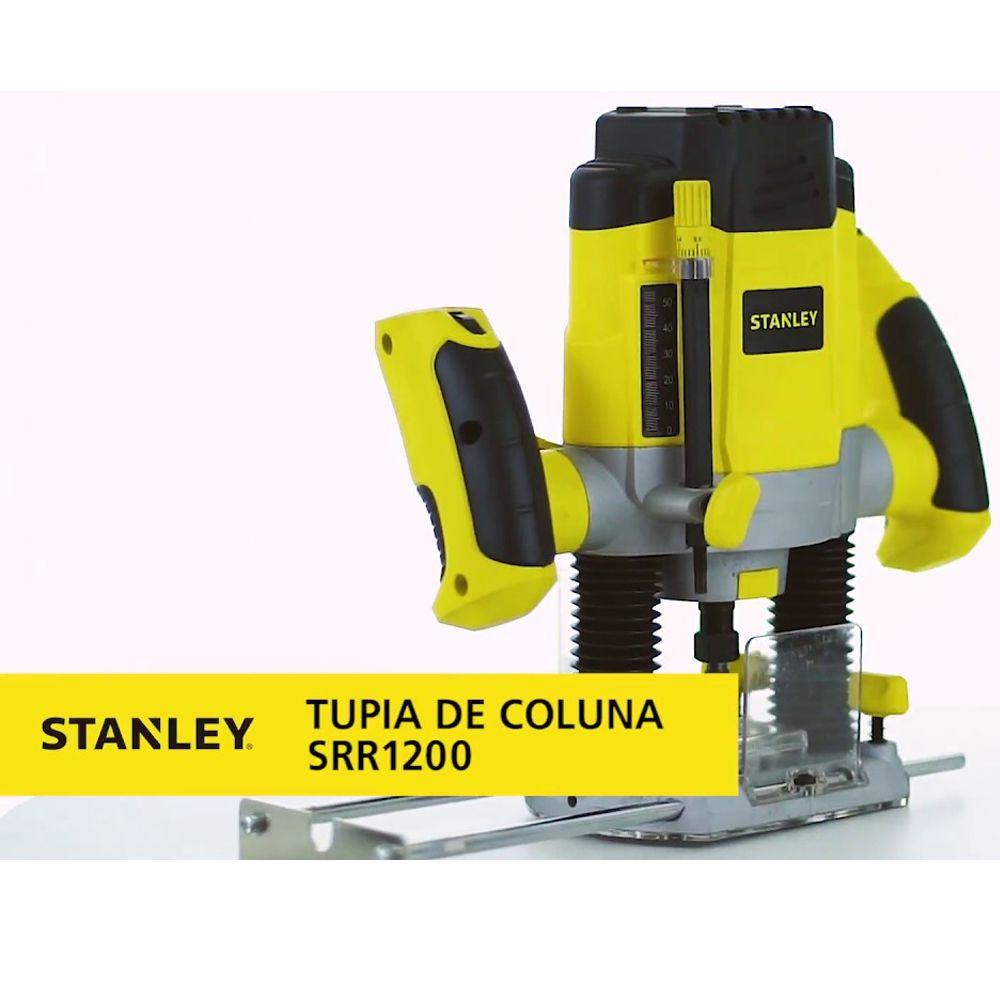 TUPIA ELETRÔNICA DE COLUNA 1200W COM 6 FRESAS - SRR1200 STANLEY