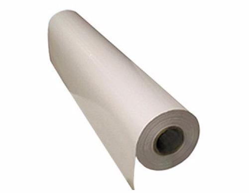 Papel Siliconado - 1 lado -1,00 mt largura