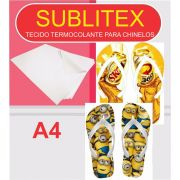 Sublitex Chinelo - Lonita termocolante para sublimação - A4