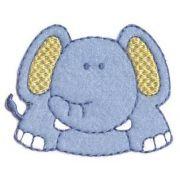 Aplique termocolante Elefante C053 -10 cm