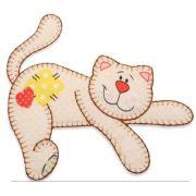 Aplique termocolante Gato C079 -10 cm