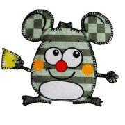 Aplique termocolante Mouse C015 -10 cm