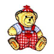 Aplique termocolante Urso C043 -10 cm