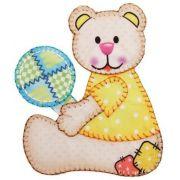 Aplique termocolante Urso C092 -10 cm