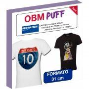 OBM Puff - Termocolante Sublimático 3D - 31 cm