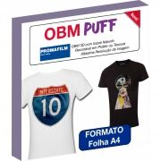 OBM Puff - Termocolante Sublimático 3D - A4