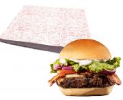 Papel Manteiga N Acoplado Glassine Hambúrguer Cx 500un B01