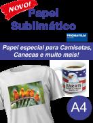 Papel Sublimático Fundo Azul Promafilm - 100 fl A4