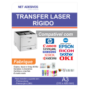 Papel Transfer Laser Rigido - A3