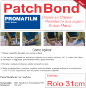 PATCH BOND - Termocolante Definitivo para Patchwork - 31 CM