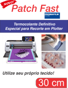 PATCH FAST - Termocolante Definitivo para Plotter - 30 CM
