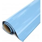Power PU - Termocolante Recortável - Azul Bebe - 60 cm