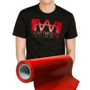 Power PU - Termocolante Recortável - Vermelho - 30 cm