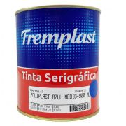 TINTA SERIGRAFIA POLIETILENO AZUL MEDIO - 900 ml