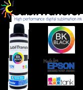 Tinta Sublimática Inktransfer Black - 100 ml
