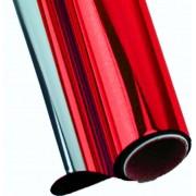 Vinil Vermelho Metalico p/ Envelopamento - 60 CM
