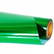 Vinil Adesivo Envelopamento Verde Metalico - 60 CM