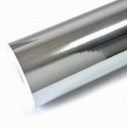 Vinil Adesivo Prata Metalico Silhouette - 30 CM