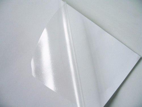 Vinil Adesivo Prata P/ Sublimação ou Laser - A4