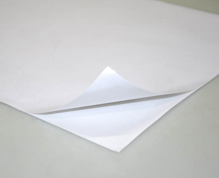 Vinil Adesivo BRANCO p/ Sublimação ou Laser - A3