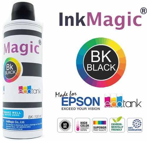 Tinta Sublimação P/ Epson InkMagic 5 x 500 Ml Escolha A Cor