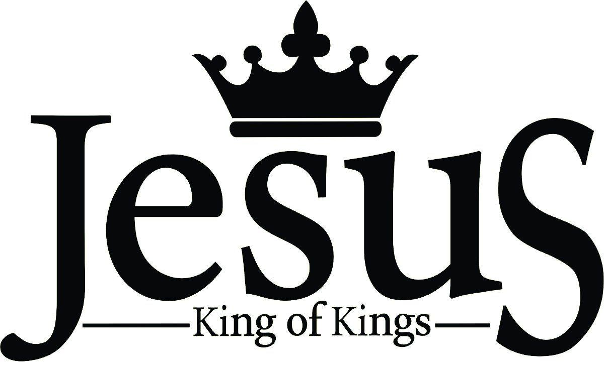 A1080 Auto Adesivo Religião Jesus King of Kings