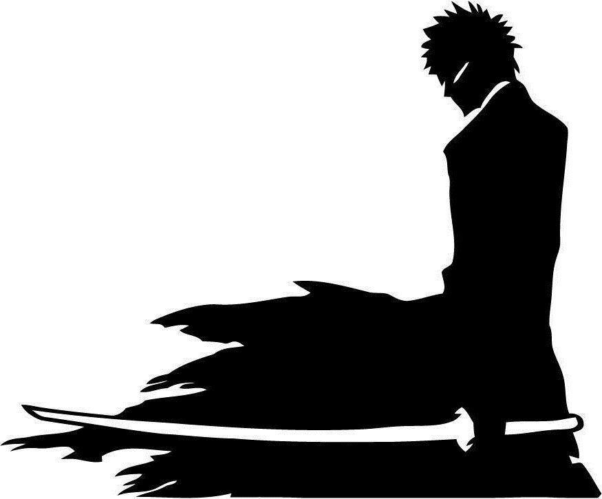 A1116 Adesivo Anime Bleach