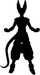 A1155 Adesivo Anime Dragon Ball Z Bills