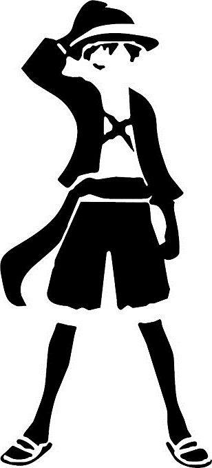 A1391 Adesivo Anime One Piece