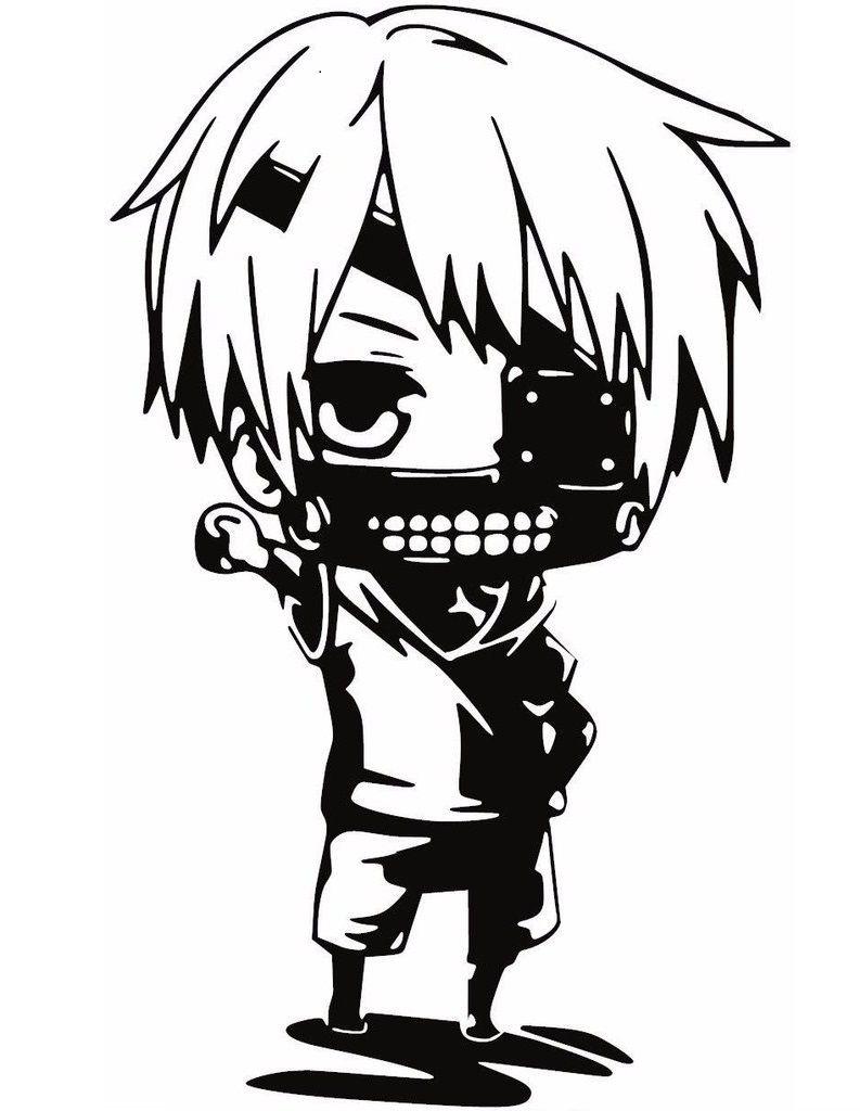 A1440 Adesivo Anime Tokyo Ghoul