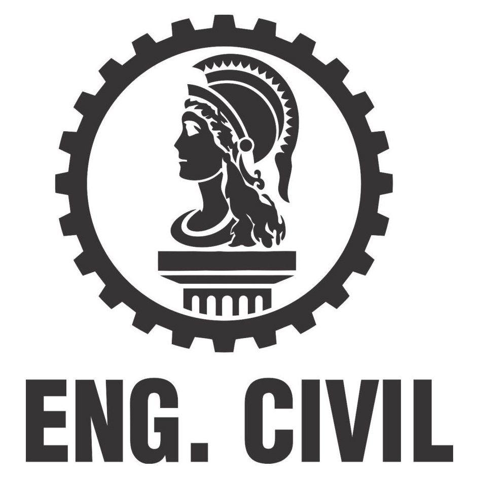 A1529 Auto Adesivo Profissão Engenharia Civil