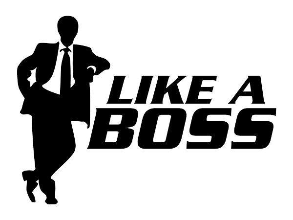 A157 Auto Adesivo Automotivo Like a Boss