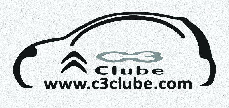 A4 Auto Adesivo Automotivo Clube C3