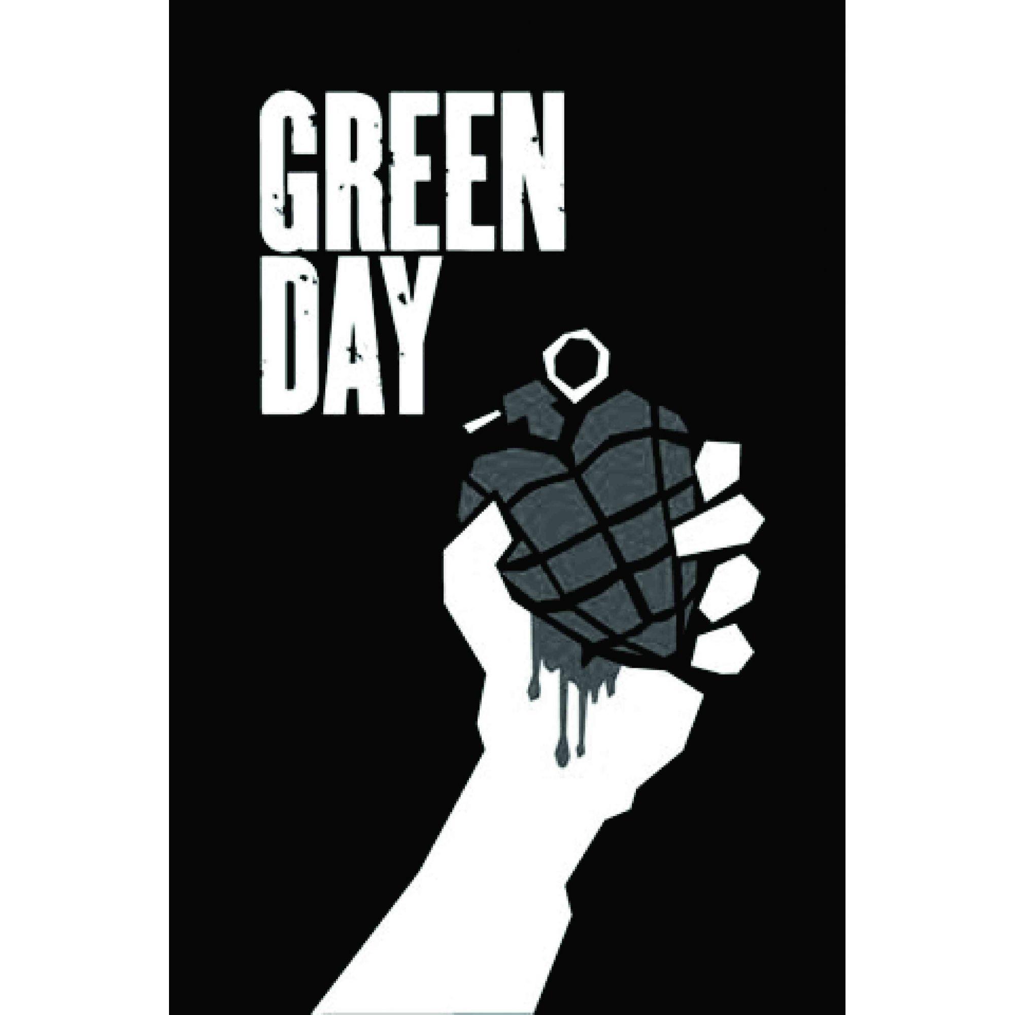 A529 Auto Adesivo Banda Green Day