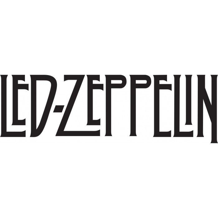 A532 Auto Adesivo Banda Led Zeppelin