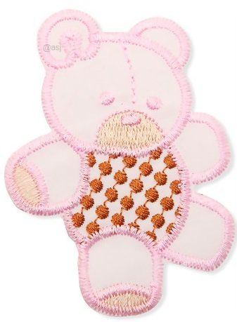 Aplique termocolante Urso C115 -10 cm