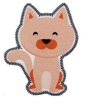 Aplique termocolante Cachorro C033 -10 cm