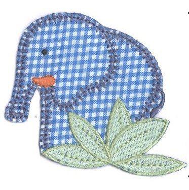 Aplique termocolante Elefante C117 -10 cm