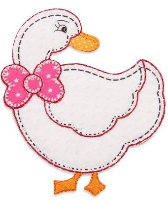 Aplique termocolante Pato C083 -10 cm