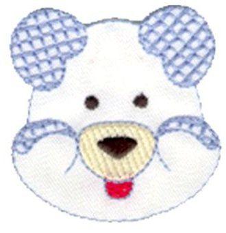 Aplique termocolante Urso C052 -10 cm