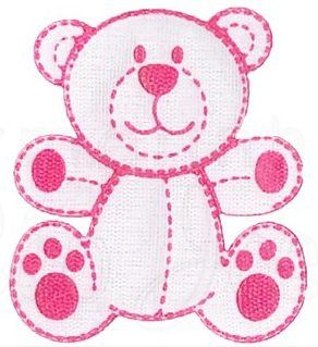 Aplique termocolante Urso C100 -10 cm